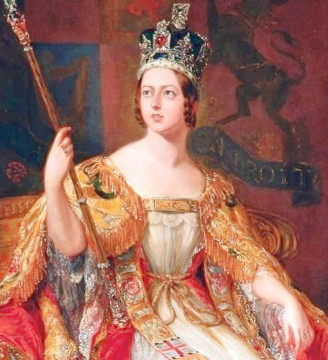 Fire Opal Queen Victoria