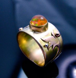 find top sellers for fire opal ring