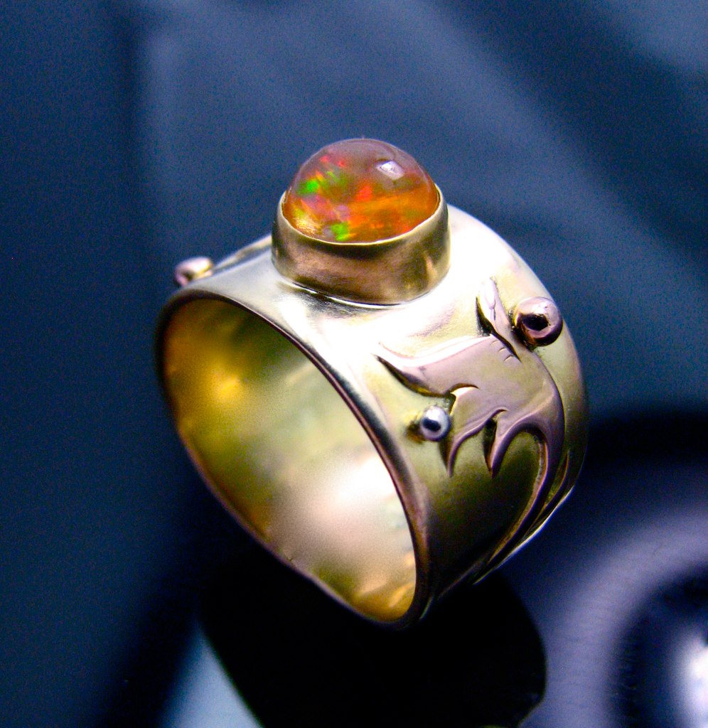 Beautiful Opal Fire Rings From Best Sellers Shop Now