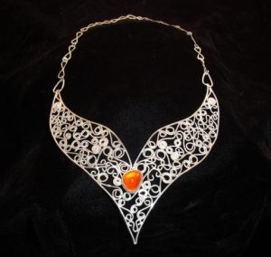 Fire Opal Necklace in a range of prices and designs - fireopalring.com
